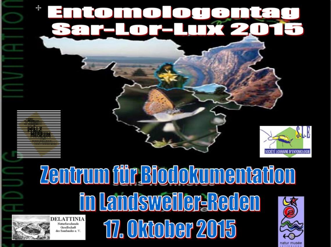 Entomologentag Sar-Lor-Lux 2015